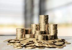 σημάδια κέρδους δολαρίων έννοιας υπολογιστών Στοκ Εικόνα