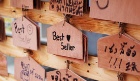 σημάδια ξύλινα Στοκ εικόνες με δικαίωμα ελεύθερης χρήσης