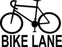 Σημάδια παρόδων ποδηλάτων Στοκ εικόνες με δικαίωμα ελεύθερης χρήσης