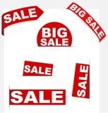 σημάδια πώλησης Στοκ εικόνα με δικαίωμα ελεύθερης χρήσης