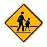 Σημάδια σχολικής ζώνης. Στοκ Φωτογραφίες