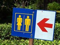 Σημάδια τουαλετών Στοκ Εικόνες