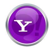 Σημάδια του Yahoo Στοκ Εικόνα