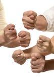 Σημάδια χεριών σύκων Στοκ Φωτογραφία
