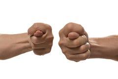 Σημάδια χεριών σύκων Στοκ Εικόνες