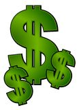 σημάδια χρημάτων δολαρίων &sigma Στοκ Φωτογραφία