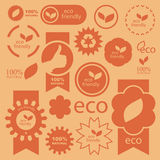 σημάδια eco Στοκ Εικόνα