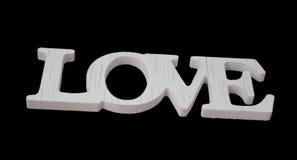 Σημάδι αγάπης στο μαύρο όμορφο σχέδιο ι ταπετσαριών εμβλημάτων Στοκ Φωτογραφίες