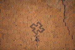 Σημάδι αγκυλωτών σταυρών σε Ani, Τουρκία Στοκ εικόνα με δικαίωμα ελεύθερης χρήσης