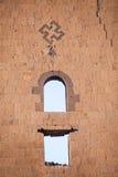 Σημάδι αγκυλωτών σταυρών σε Ani, Τουρκία Στοκ εικόνες με δικαίωμα ελεύθερης χρήσης