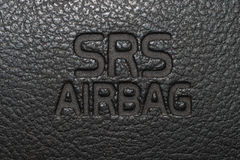 Σημάδι 2 αερόσακων αυτοκινήτων Στοκ φωτογραφία με δικαίωμα ελεύθερης χρήσης