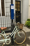 Σημάδι αμοιβή--πάρκων στο Λονδίνο στοκ φωτογραφίες