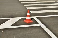 Σημάδι απαγόρευσης στο δρόμο Στοκ Εικόνες