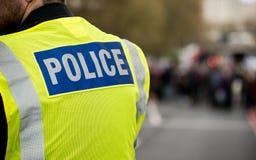 σημάδι αστυνομίας Στοκ Φωτογραφίες