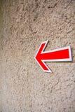 Σημάδι βελών Στοκ φωτογραφία με δικαίωμα ελεύθερης χρήσης