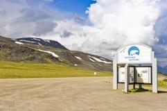 Σημάδι βορειοδυτικών εδαφών Στοκ εικόνες με δικαίωμα ελεύθερης χρήσης