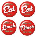 Σημάδι γευματιζόντων ελεύθερη απεικόνιση δικαιώματος