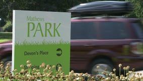 Σημάδι για το πάρκο του Matthew (1 2) φιλμ μικρού μήκους