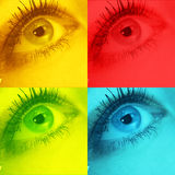 Σημάδι εικονιδίων για τα μάτια διανυσματική απεικόνιση