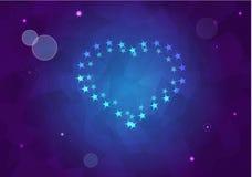 Σημάδι ειρήνης από τα αστέρια Στοκ φωτογραφία με δικαίωμα ελεύθερης χρήσης