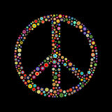 Σημάδι ειρήνης Στοκ Εικόνες