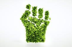 Σημάδι επανάστασης Eco διανυσματική απεικόνιση