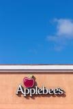 Σημάδι εστιατορίων Applebee. Στοκ φωτογραφία με δικαίωμα ελεύθερης χρήσης