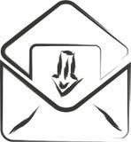Σημάδι ηλεκτρονικού ταχυδρομείου Στοκ φωτογραφίες με δικαίωμα ελεύθερης χρήσης