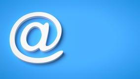 Σημάδι ηλεκτρονικού ταχυδρομείου Στοκ εικόνες με δικαίωμα ελεύθερης χρήσης