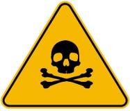 Σημάδι δηλητήριων Στοκ φωτογραφία με δικαίωμα ελεύθερης χρήσης