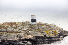 Σημάδι θάλασσας/σημάδι ναυσιπλοΐας Στοκ Φωτογραφίες