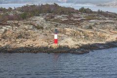 Σημάδι θάλασσας/σημάδι ναυσιπλοΐας Στοκ εικόνες με δικαίωμα ελεύθερης χρήσης