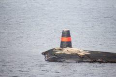 Σημάδι θάλασσας/σημάδι ναυσιπλοΐας Στοκ εικόνα με δικαίωμα ελεύθερης χρήσης
