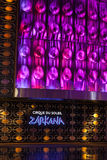 Σημάδι θεάτρων Zarkana στη Aria στο Λας Βέγκας, NV στις 6 Αυγούστου 2013 Στοκ Εικόνες