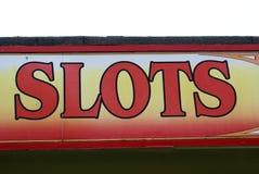 Σημάδι διασκέδασης arcade Σημάδι αυλακώσεων Στοκ Φωτογραφία
