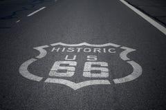 σημάδι 66 διαδρομών στοκ φωτογραφίες με δικαίωμα ελεύθερης χρήσης
