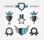 Σημάδι και σύμβολο βραβείων απεικόνιση αποθεμάτων