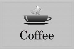 σημάδι καφέ Στοκ Εικόνα