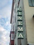 Σημάδι κινηματογράφων στη Ζυρίχη Στοκ εικόνα με δικαίωμα ελεύθερης χρήσης