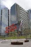Σημάδι κόλας της Pepsi ορόσημων στην πόλη Long Island Στοκ Φωτογραφίες