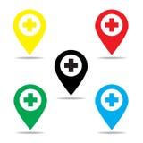 Σημάδι νοσοκομείων Στοκ εικόνα με δικαίωμα ελεύθερης χρήσης