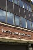 σημάδι νόμου δικαστηρίων Στοκ φωτογραφία με δικαίωμα ελεύθερης χρήσης