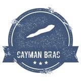 Σημάδι λογότυπων Brac Cayman απεικόνιση αποθεμάτων