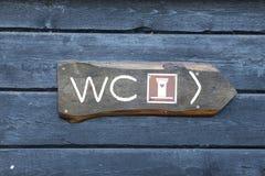 Σημάδι λουτρών Στοκ εικόνα με δικαίωμα ελεύθερης χρήσης