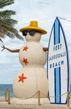 Σημάδι παραλιών FT Lauderdale Στοκ Εικόνες