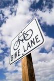 Σημάδι παρόδων ποδηλάτων Στοκ Εικόνες
