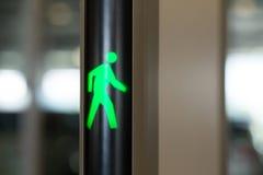 Σημάδι περπατήματος Στοκ Εικόνες