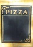 Σημάδι πινάκων πιτσών Στοκ φωτογραφία με δικαίωμα ελεύθερης χρήσης