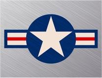 Σημάδι Πολεμικής Αεροπορίας των Η.Π.Α. Στοκ Φωτογραφίες