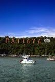 Σημάδι πόλεων Pattaya Στοκ Εικόνα